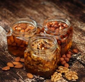 Набор мёда с орехами