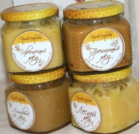 Мёд стекле