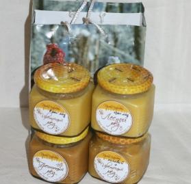 Подарочный набор 4 мёда №2