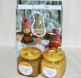 Подарочный набор 2 мёда №3
